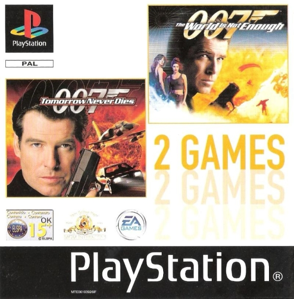 2games 007 ps1 - Na tropie historii edycji gier - 2 Games / Twin Pack / Double Pack
