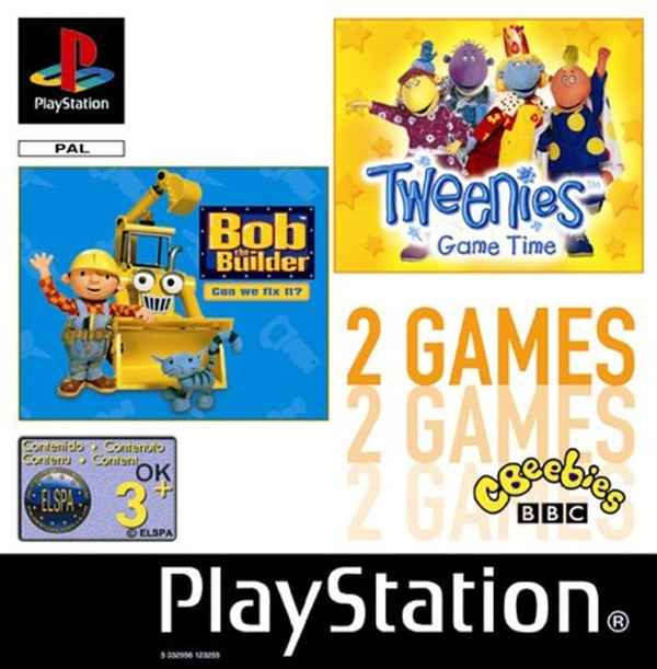 2games bob builder tweenies - Na tropie historii edycji gier - 2 Games / Twin Pack / Double Pack