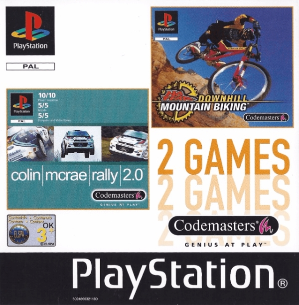 2games colin biking - Na tropie historii edycji gier - 2 Games / Twin Pack / Double Pack