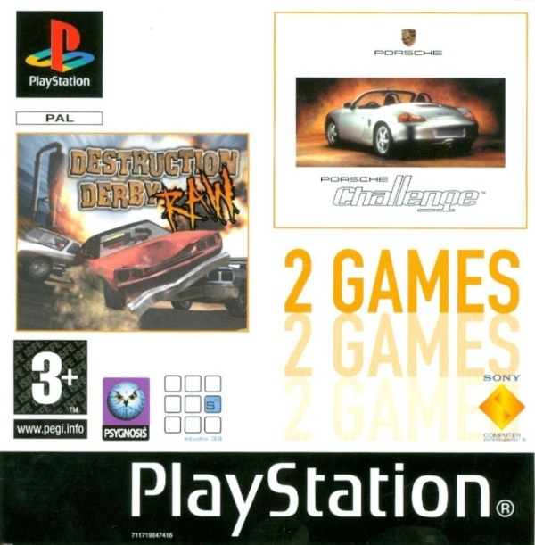 2games destruction porsche - Na tropie historii edycji gier - 2 Games / Twin Pack / Double Pack