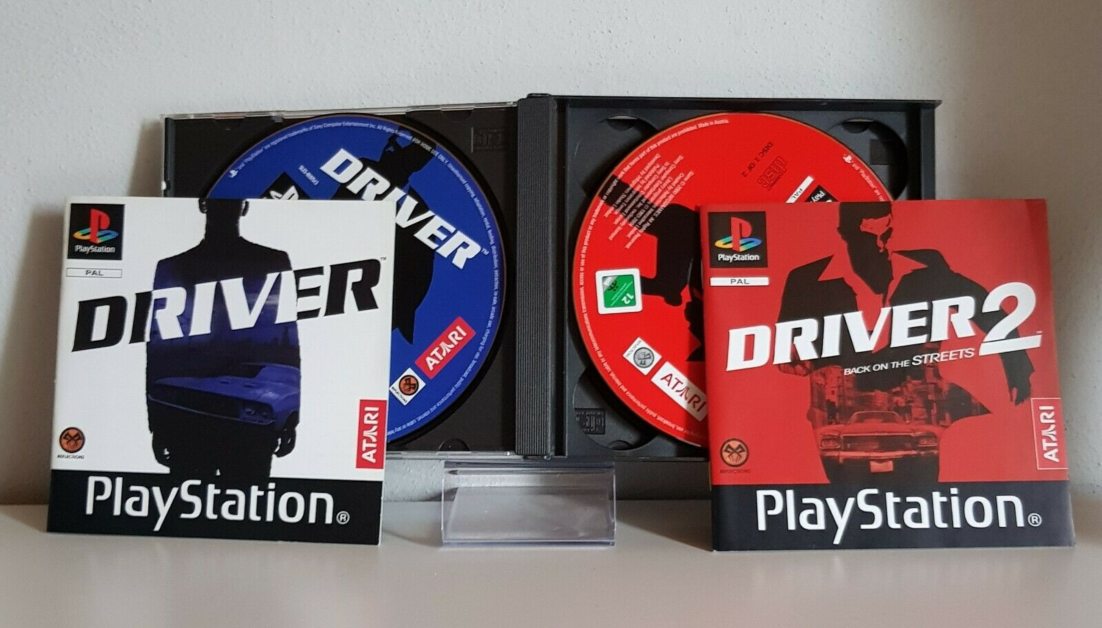 2games driver 1 - Na tropie historii edycji gier - 2 Games / Twin Pack / Double Pack