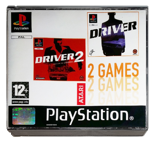 2games driver - Na tropie historii edycji gier - 2 Games / Twin Pack / Double Pack
