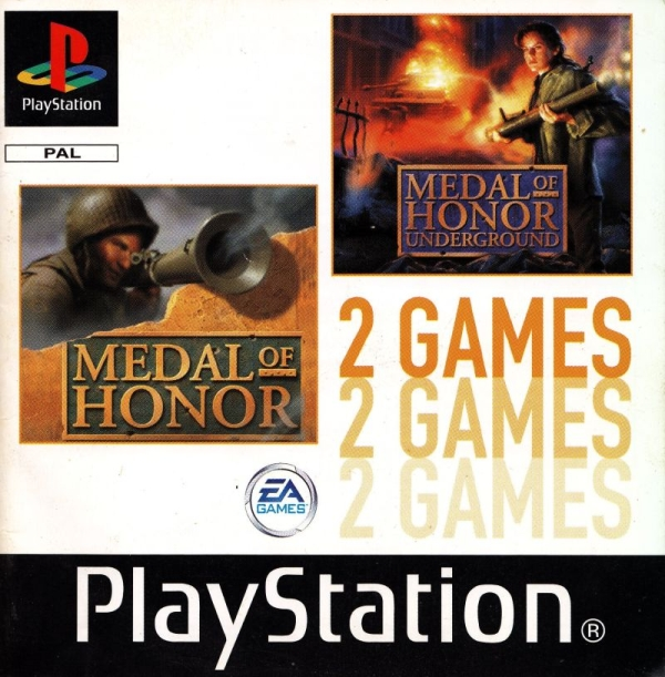 2games medal of honor - Na tropie historii edycji gier - 2 Games / Twin Pack / Double Pack