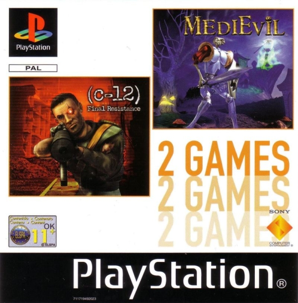2games medievil c12 - Na tropie historii edycji gier - 2 Games / Twin Pack / Double Pack