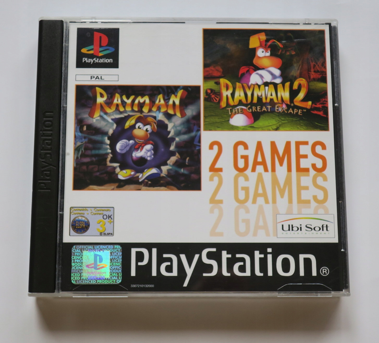 2games rayman 1 - Na tropie historii edycji gier - 2 Games / Twin Pack / Double Pack