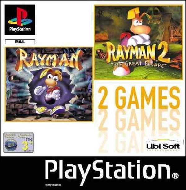2games rayman - Na tropie historii edycji gier - 2 Games / Twin Pack / Double Pack