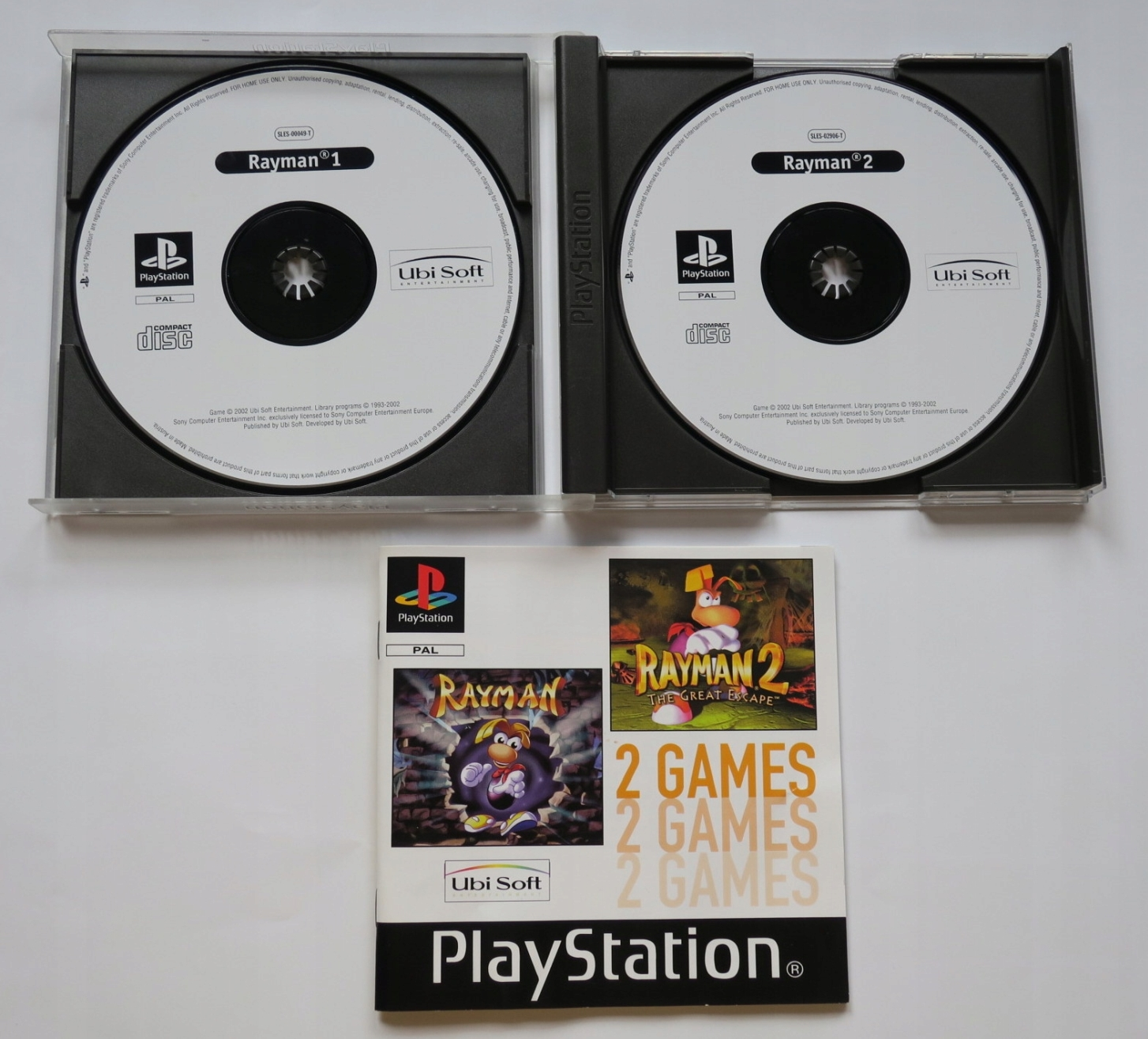 2games rayman 3 - Na tropie historii edycji gier - 2 Games / Twin Pack / Double Pack
