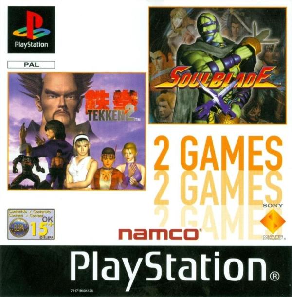 2games tekken2 soulblade - Na tropie historii edycji gier - 2 Games / Twin Pack / Double Pack