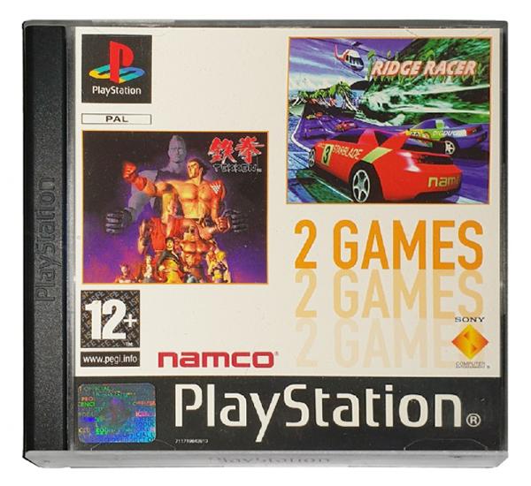 2games tekken ridge racer - Na tropie historii edycji gier - 2 Games / Twin Pack / Double Pack