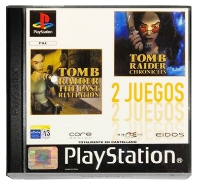 2games tom raider spain - Na tropie historii edycji gier - 2 Games / Twin Pack / Double Pack