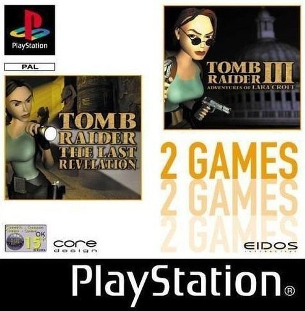 2games tomb raider - Na tropie historii edycji gier - 2 Games / Twin Pack / Double Pack