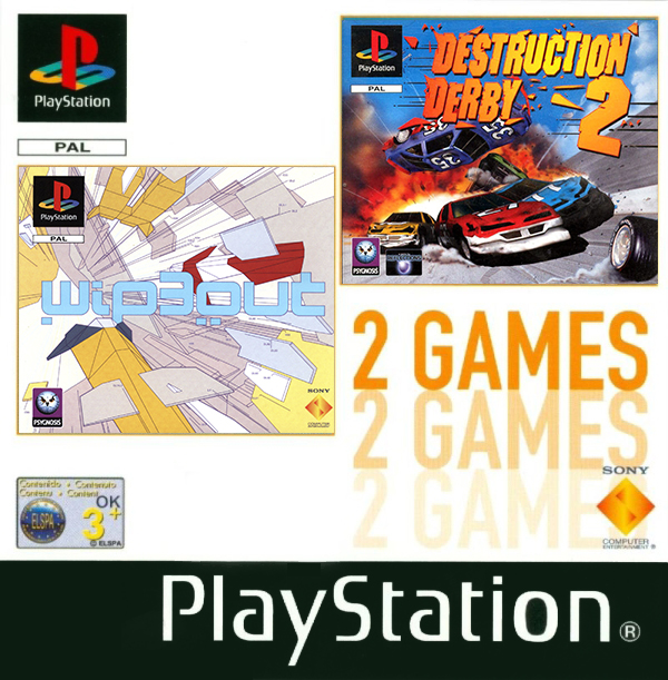 2games wipeout3 dd2 - Na tropie historii edycji gier - 2 Games / Twin Pack / Double Pack