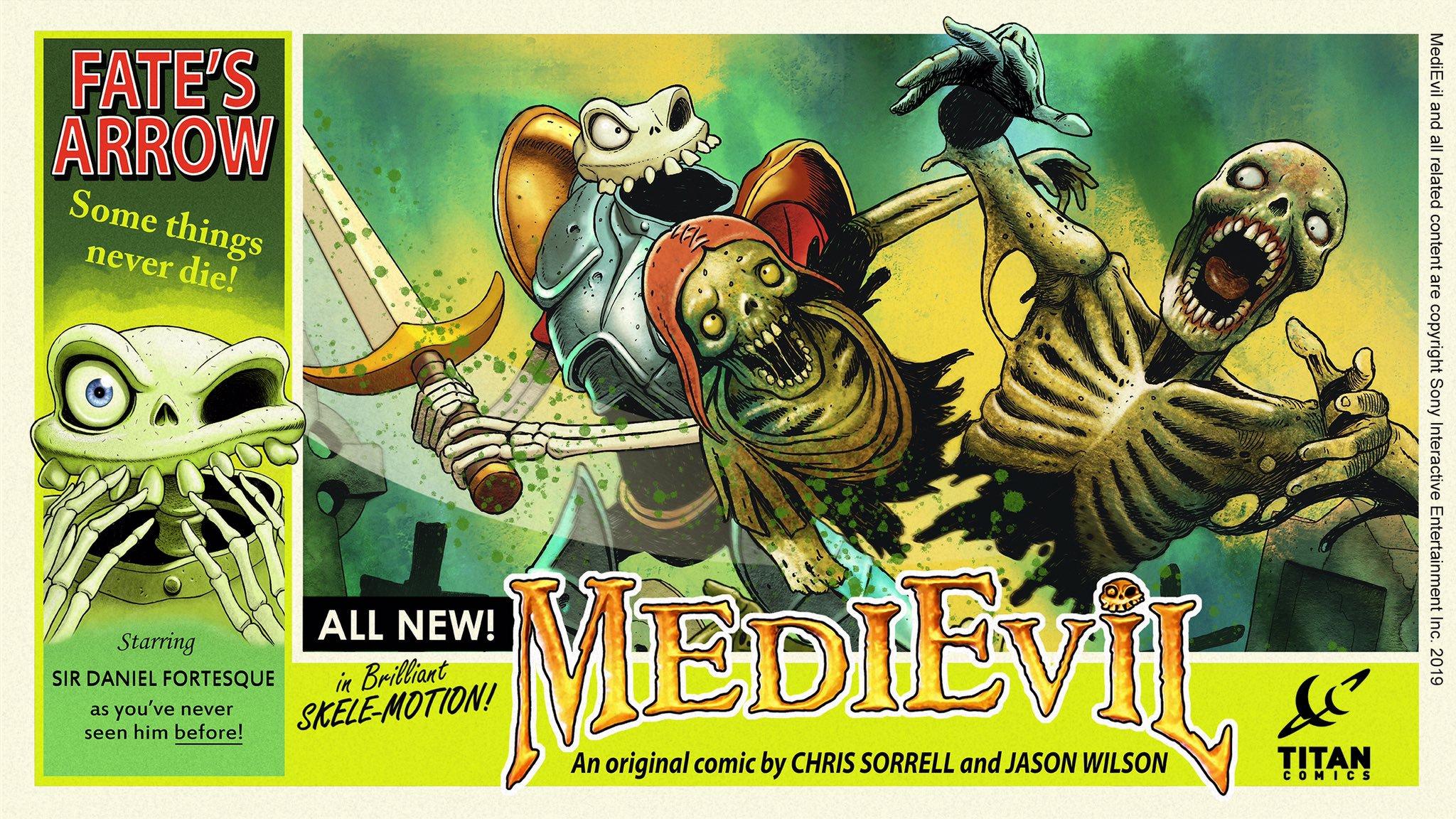 medievil komiks 3 - Niewydany MediEvil: Fate's Arrow na PS2 powróci w formie komiksu!