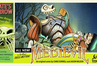 medievil komiks 320x220 - Niewydany MediEvil: Fate's Arrow na PS2 powróci w formie komiksu!