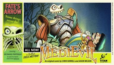 medievil komiks 384x220 - Niewydany MediEvil: Fate's Arrow na PS2 powróci w formie komiksu!