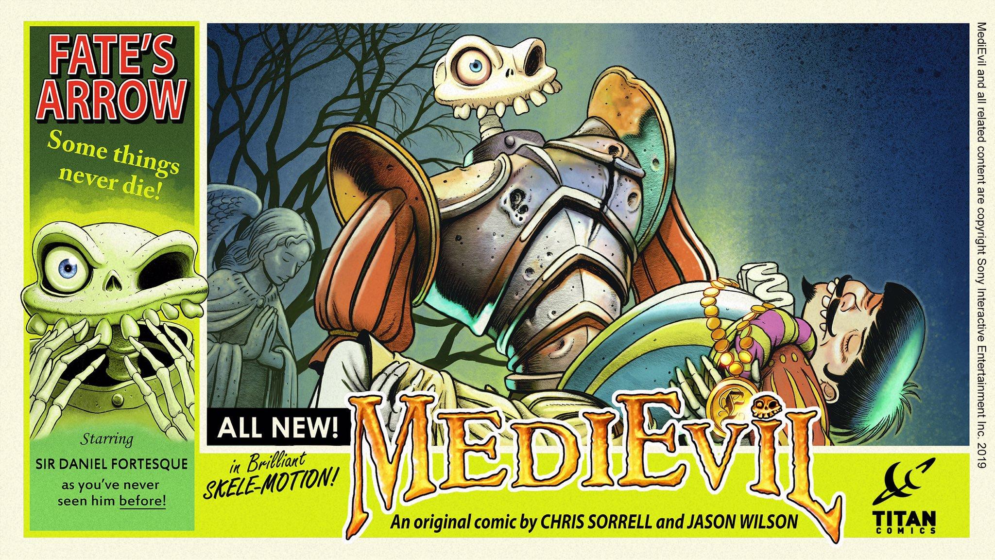 medievil komiks 4 - Niewydany MediEvil: Fate's Arrow na PS2 powróci w formie komiksu!
