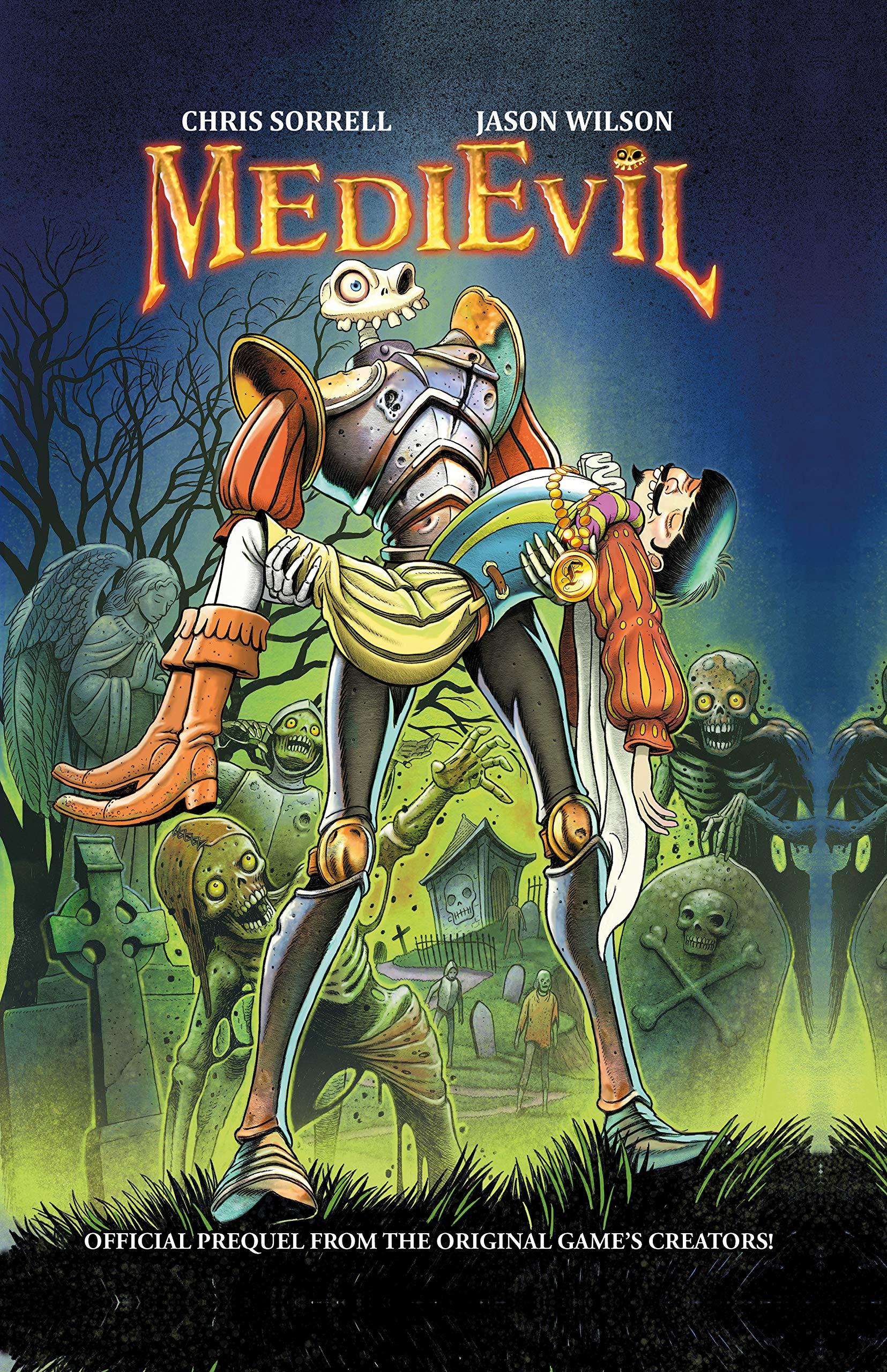 medievil komiks 1 - Niewydany MediEvil: Fate's Arrow na PS2 powróci w formie komiksu!