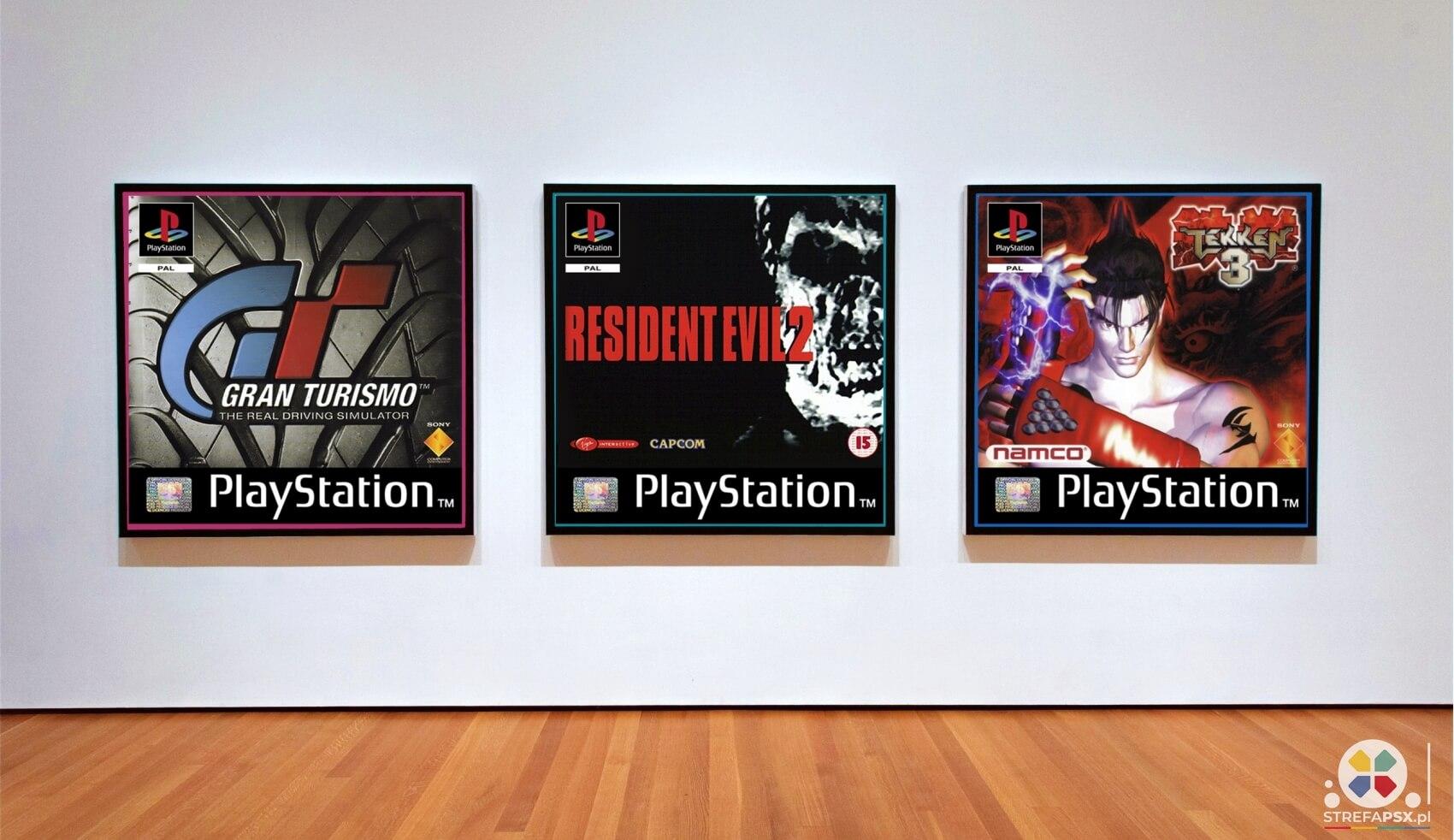 obrazy playstation 2 - Obrazy płyt PlayStation – wczoraj i dziś