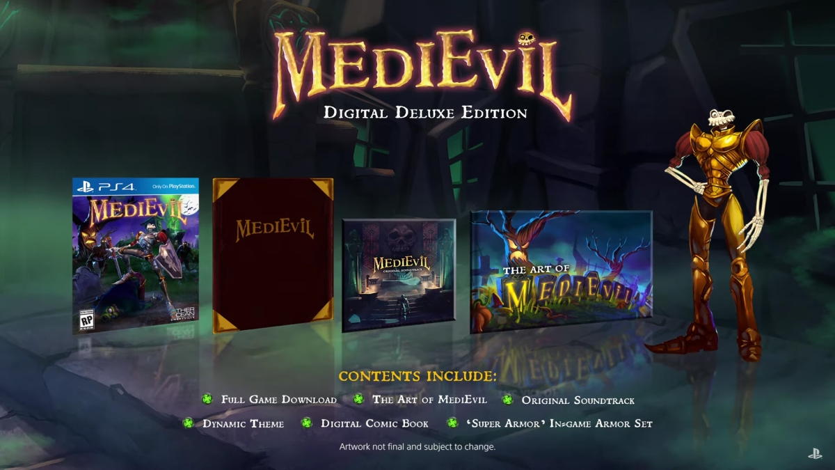 medievil digital deluxe edition ps4 - Wyjątkowa edycja Medievil Digital Deluxe Edition na PS4