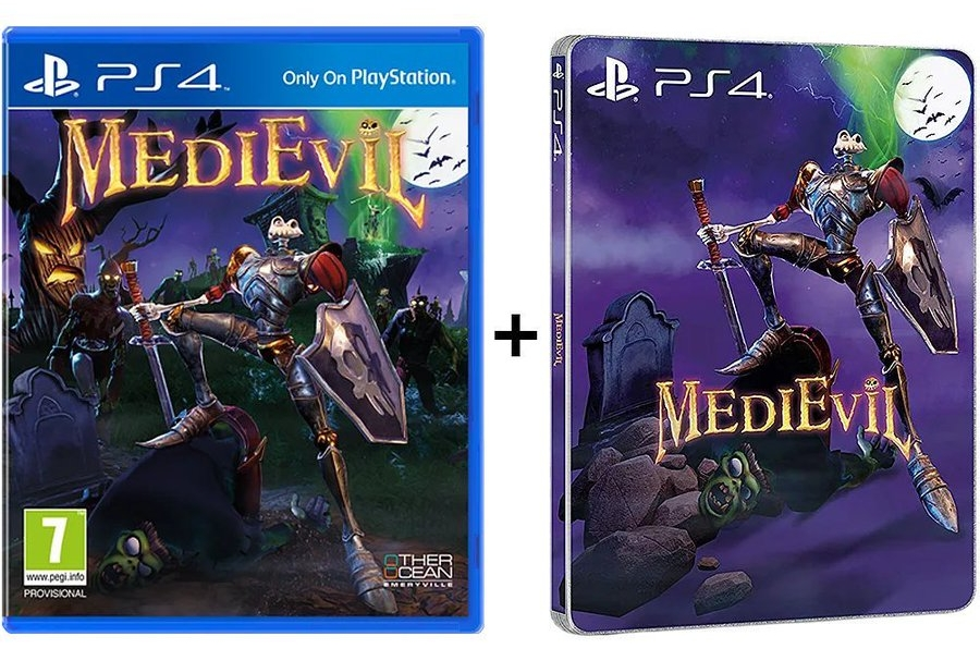 medievil ps4 steelbook - Wyjątkowa edycja Medievil Digital Deluxe Edition na PS4
