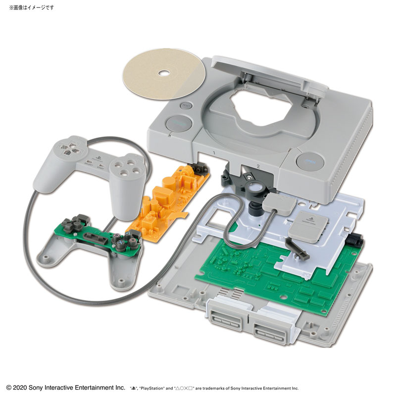 "bandai playstation model 07 - Modele ""Best Hit Chronicle"" PlayStation oraz Sega Saturn od Bandai"