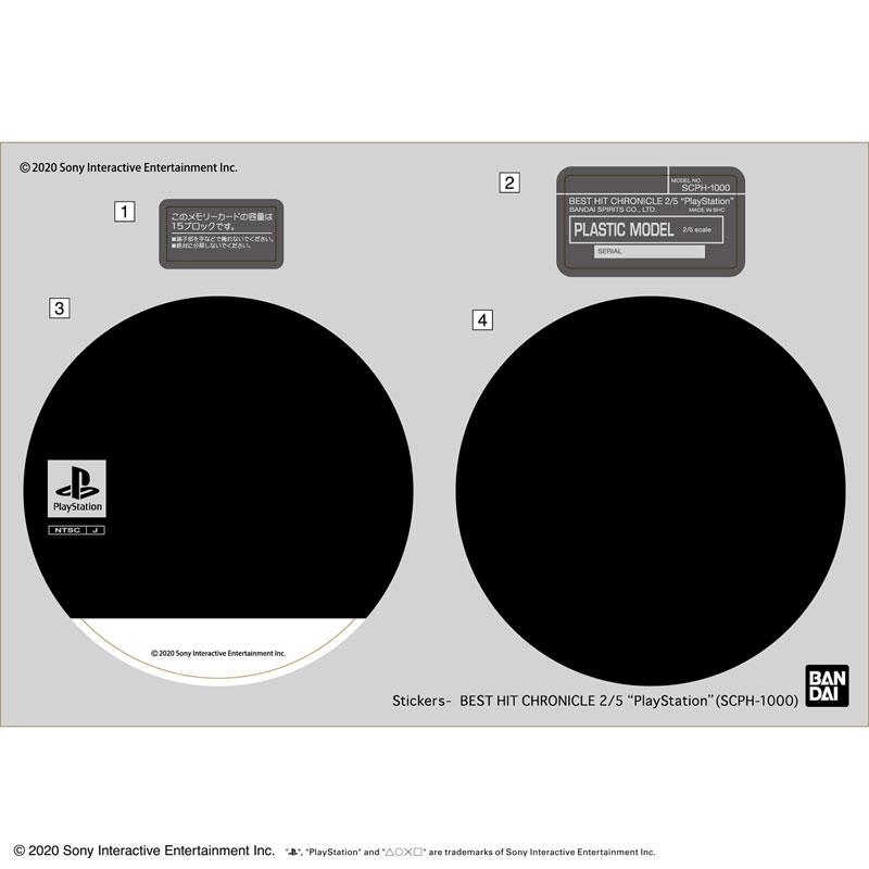 "bandai playstation model 08 - Modele ""Best Hit Chronicle"" PlayStation oraz Sega Saturn od Bandai"