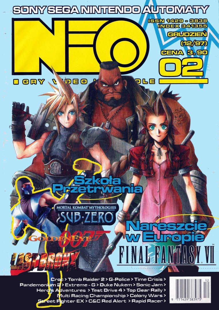ffvii neo cover - Jak oceniano Final Fantasy VII w Polsce w 1997/1998 roku?