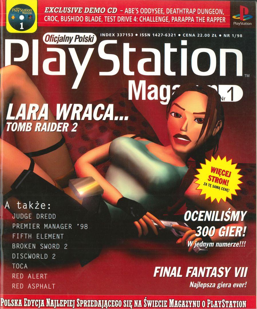 ffvii psm cover - Jak oceniano Final Fantasy VII w Polsce w 1997/1998 roku?