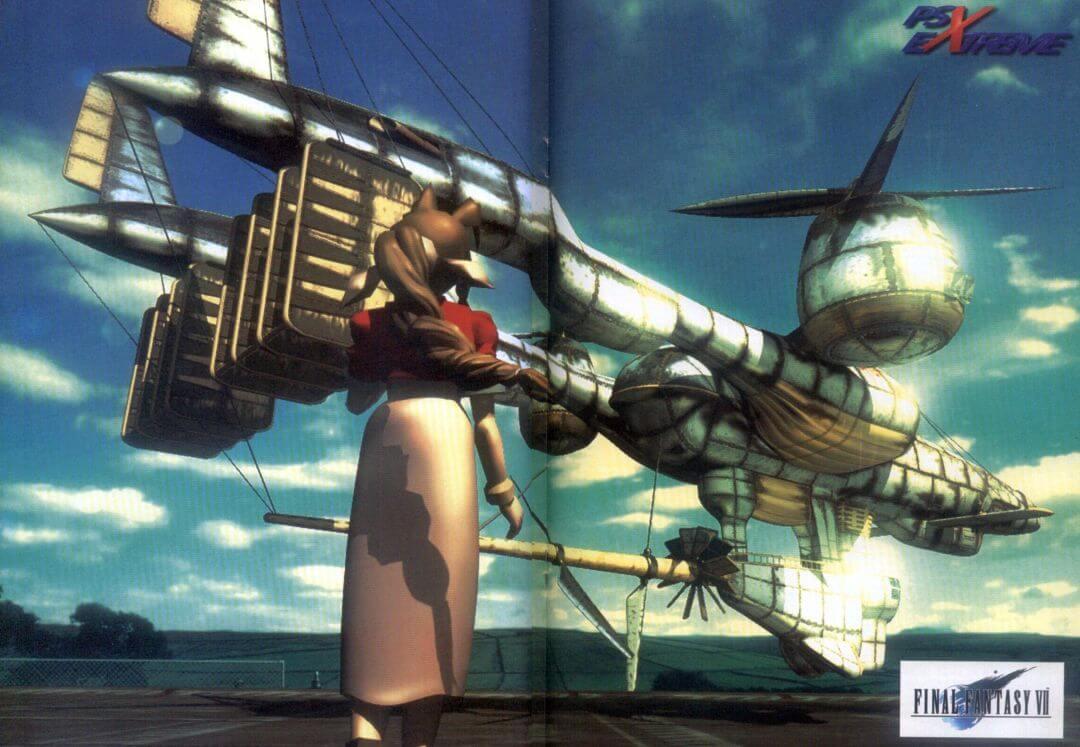 ffvii psx extreme poster - Jak oceniano Final Fantasy VII w Polsce w 1997/1998 roku?