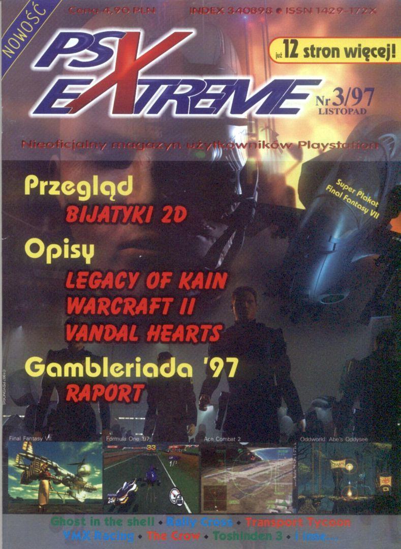 ffvii psxextreme cover - Jak oceniano Final Fantasy VII w Polsce w 1997/1998 roku?