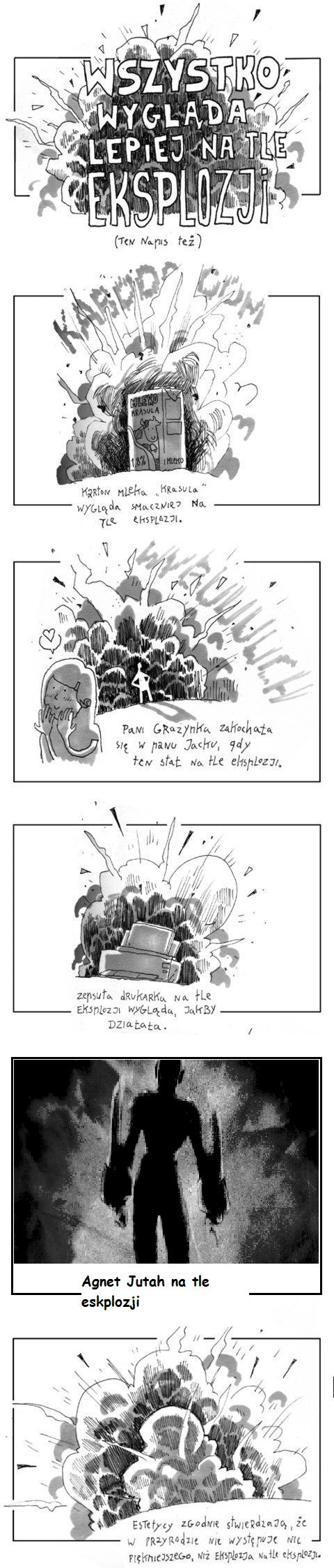 agent jutah na tle eksplozji - Recenzja - Silent Bomber