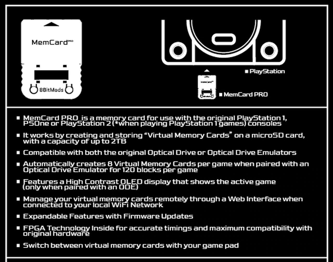 memcardpro 8bitmods 1 - Zapomnij o ograniczonym miejscu na twojej karcie pamięci! Wszystko dzięki MemCard PRO od 8BitMods.