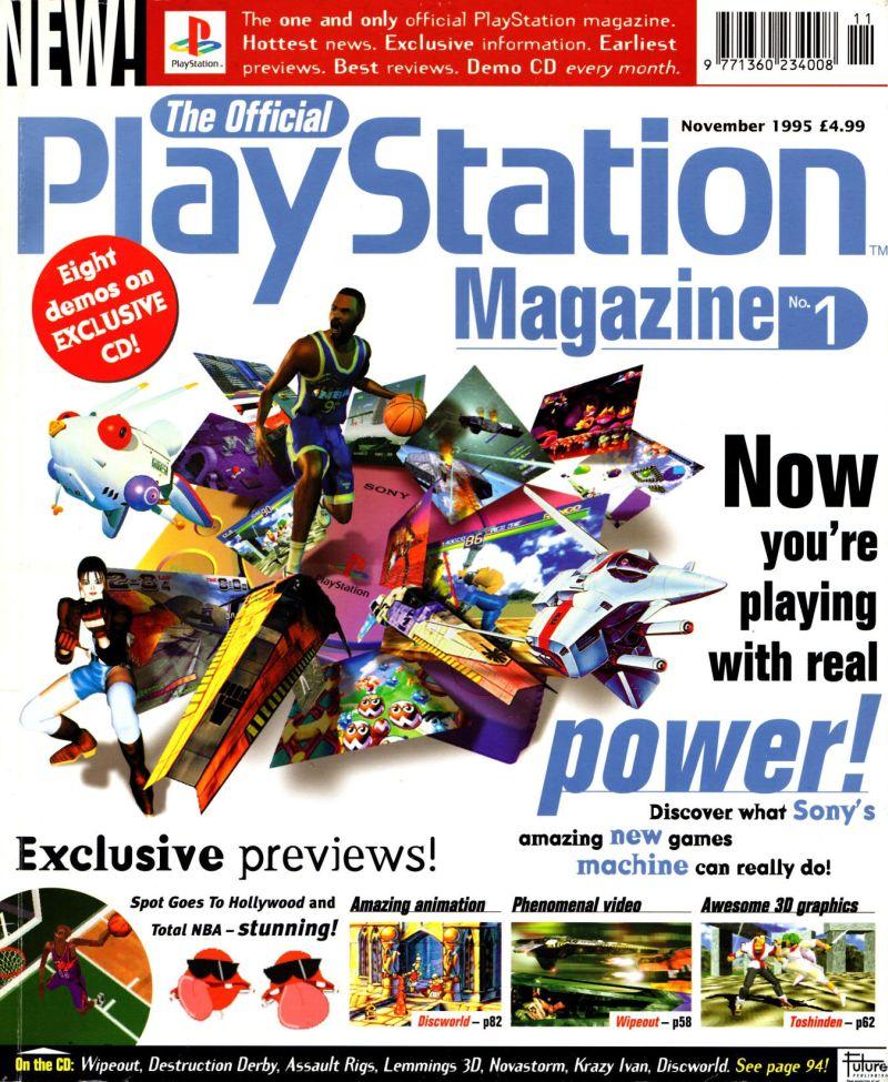 """official playstation magazine uk. 1 - Ostatni """"oficjalny"""" magazyn poświęcony konsolom zmienia nazwę!"""