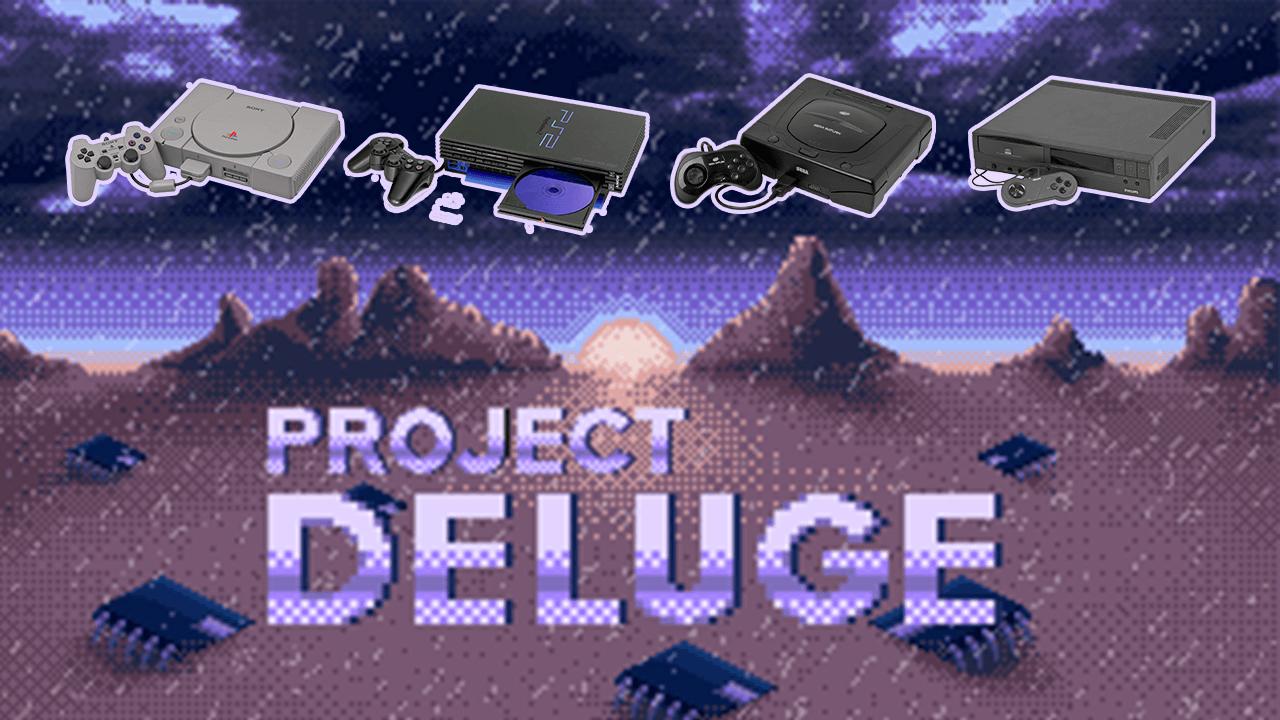 project deluge baner - Udostępniono ponad 370 prototypowych wersji gier na pierwsze PlayStation