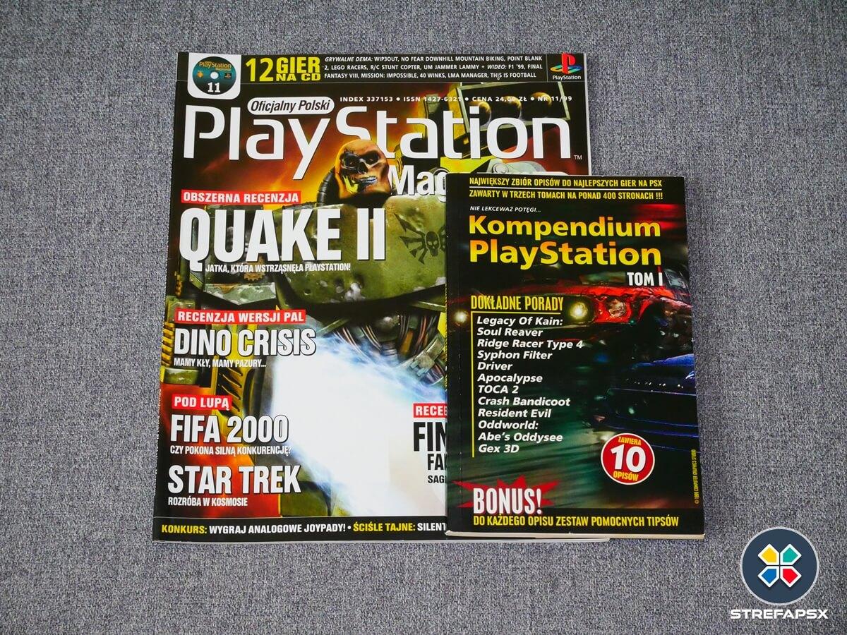kompendium playstion psx all11 - Historia książeczek, zwanych też kompendiami PlayStation