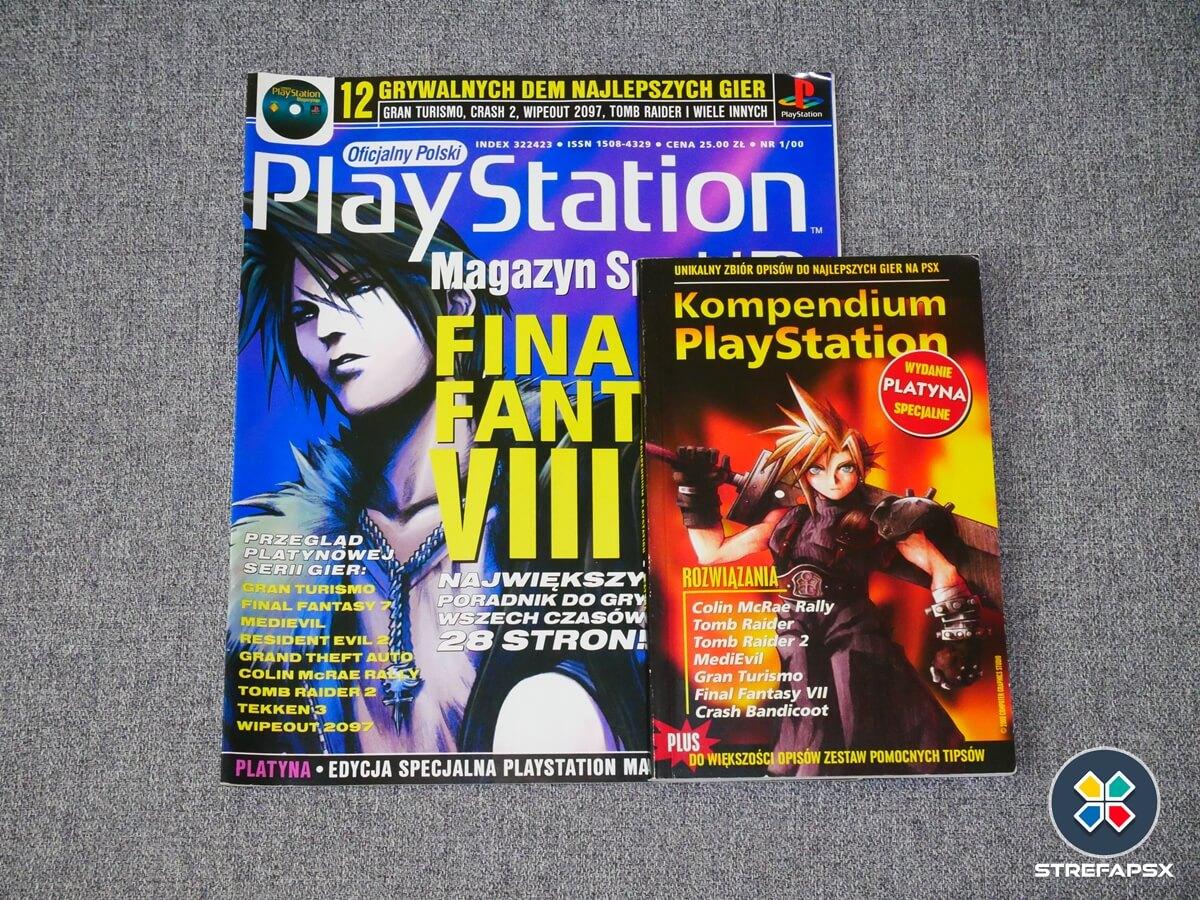 kompendium playstion psx all17 - Historia książeczek, zwanych też kompendiami PlayStation