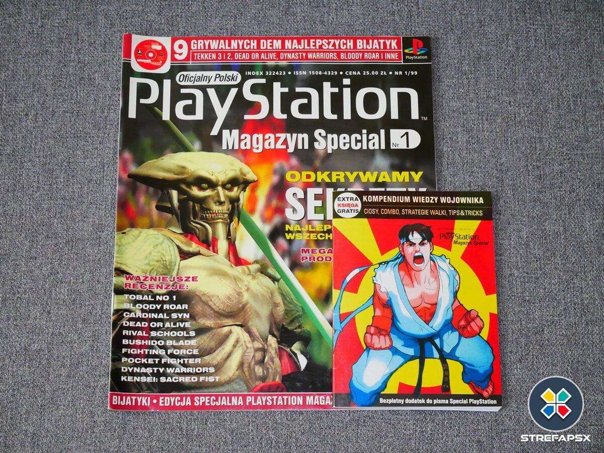 kompendium playstion psx all19 - Historia książeczek, zwanych też kompendiami PlayStation